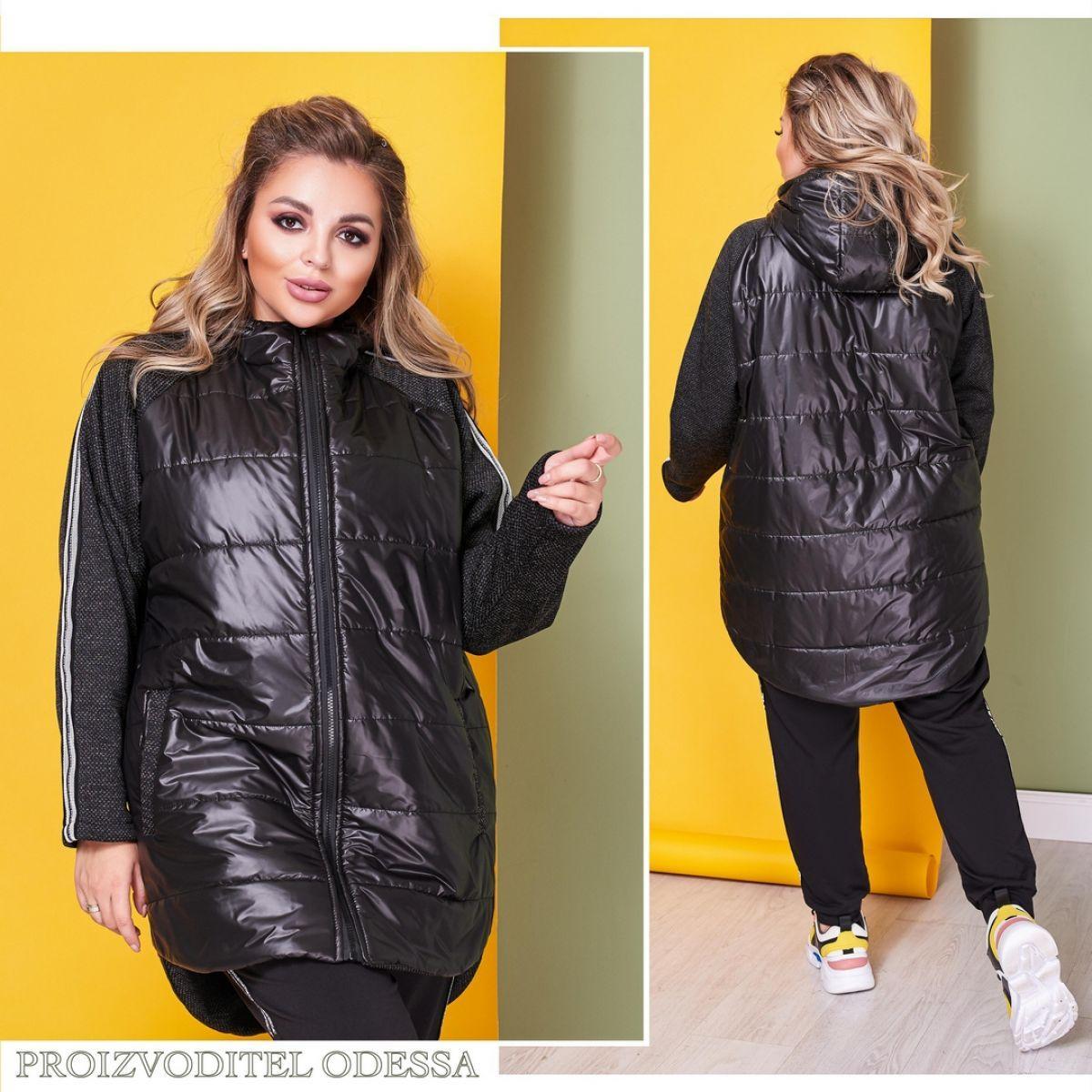 Женская куртка в спортивном стиле 50-52,54-56,58-60