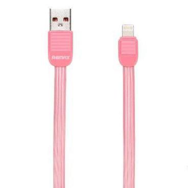 USB кабель Remax Puff RC-045i Lightning, 1m pink