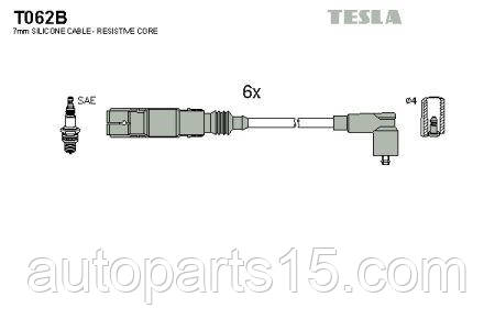 Провода зажигания FORD GALAXY, VOLKSWAGEN GOLF, VOLKSWAGEN PASSAT, VOLKSWAGEN SHARAN TESLA T062B