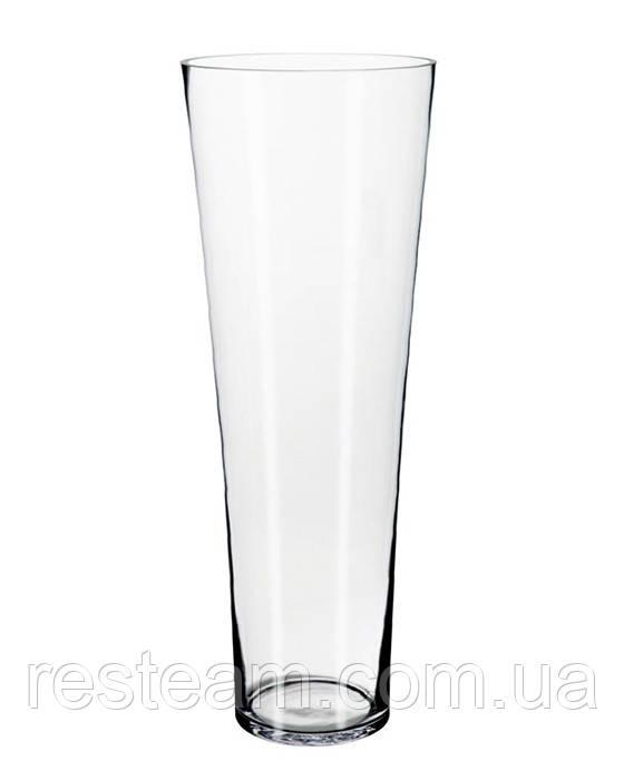 Ваза стекло конус (d-20см/h-52см) mzS021
