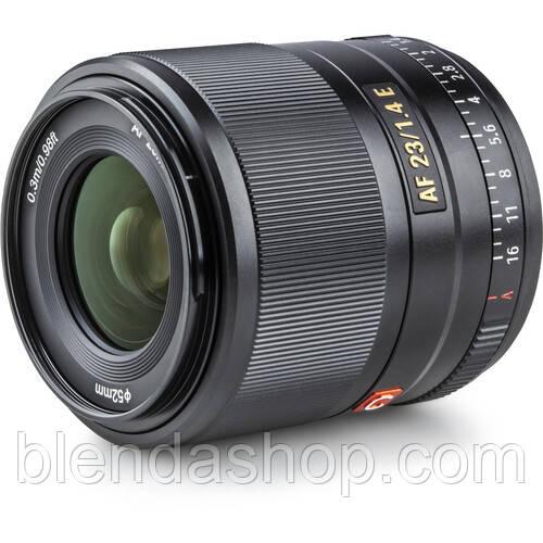 Объектив VILTROX 23mm f/1.4 E STM (Sony E-mount) - автофокусный