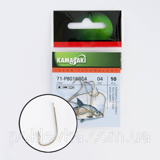 Крючок Kamasaki Carbon P801BR NR 06 (12шт)