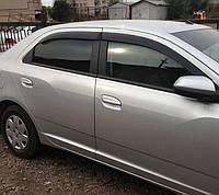 Дефлектори вікон (вітровики) Chevrolet Cobalt 2012