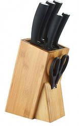 Набір ножів з підставкою 7 предметів Aurora 864AU