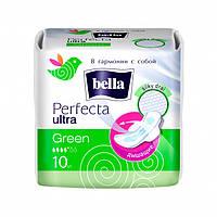 Гигиенические прокладки Bella Perfecta Ultra Green 10 шт (5900516302900)