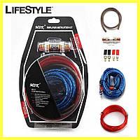 Набор проводов для установки саббуфера kit MD 8 / Набор кабелей для автоакустики