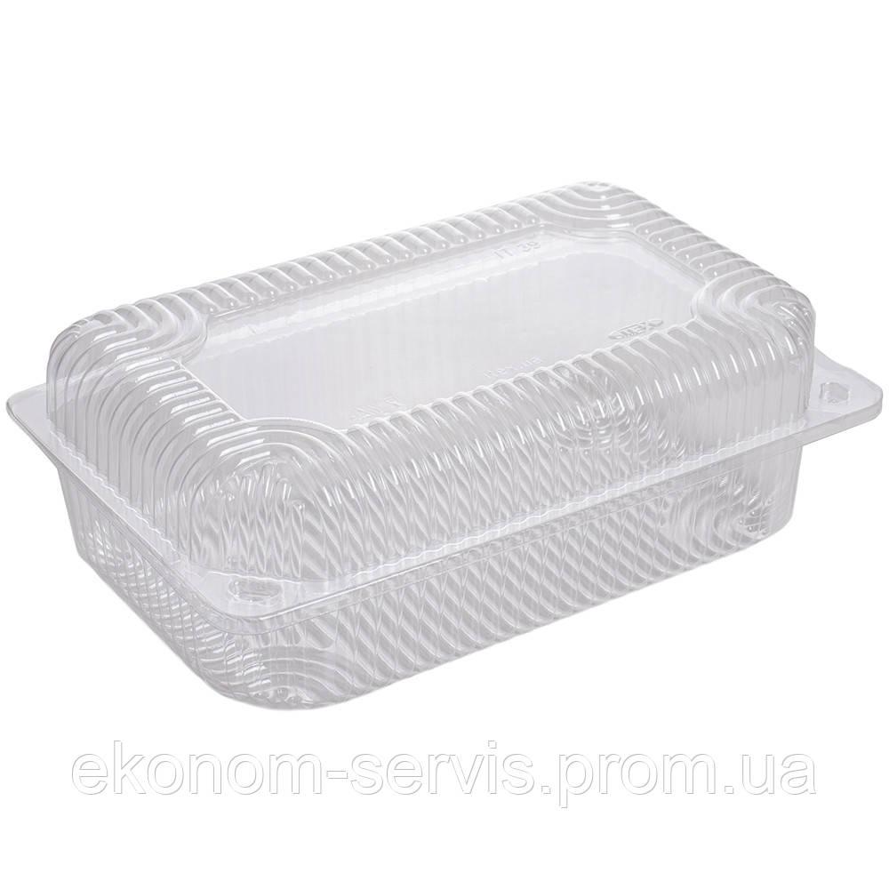Контейнер пластиковый IT-39, 1600мл, 14*21,6*7,8 см.фасовка 50 шт