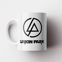 Чашка Linkin Park logo. Рок Музыка. Rock. Чашка с фото Линкин Парк, фото 1