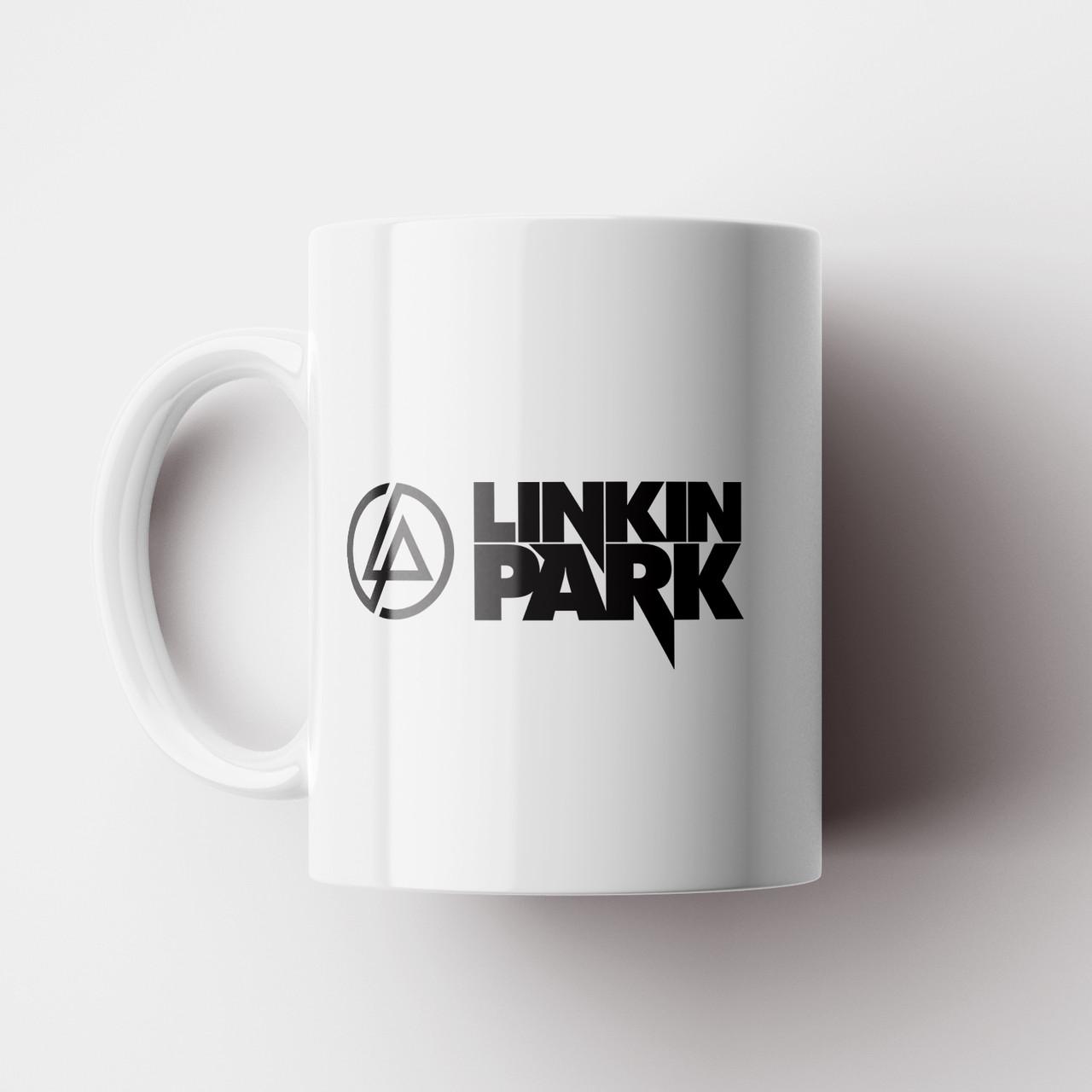 Чашка Linkin Park logo. Рок Музика. Rock. Чашка з фото Лінкін Парк