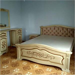 Ліжко дерев'яна Карраль Люкс