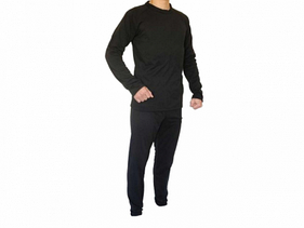 Термо костюм Флис (Черный) р 46 1шт.
