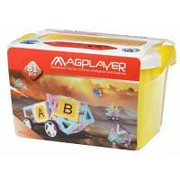 Конструктор Magplayer магнитный набор бокс 81 эл (MPT2-81)