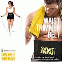 Пояс для похудения с компрессией Sweat Waist Trimmer Belt размер XL, неопрен, пояс для похудения, пояс Sweat