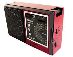 Портативный радиоприемник RX 132 радио колонка MP3 / WMA
