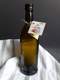 Олія льону холодного віджиму 500 мл. Масло льна