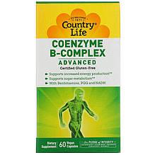 "Коэнзим В-комплекс Country Life ""Coenzyme B-Complex Advanced"" (60 капсул)"