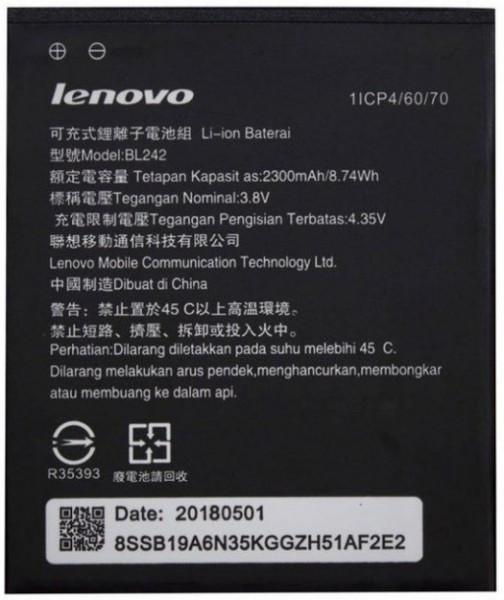 Аккумуляторная батарея Lenovo BL242 2300 mAh для A2020 Vibe C/A3690/A3860/A3900/A6000/A6000 Plus/A6010/K3/K30  АА класс