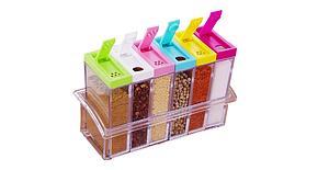 Набор для специй Seasoning Six Piece Set 6шт.