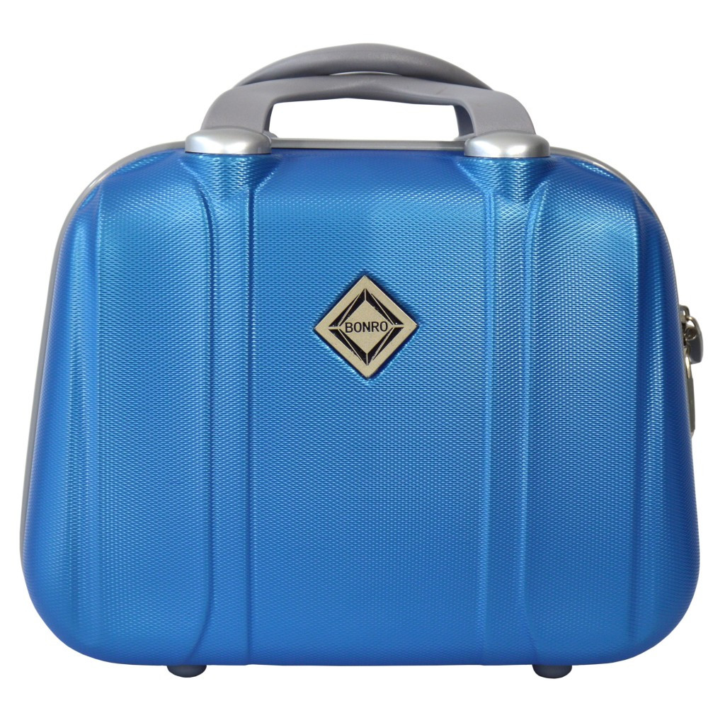 Сумка кейс саквояж Bonro Smile (средний) світло синий (blue 656)