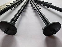 Колышки для фиксации агроволокна 1шт длина 170мм /50шт уп., фото 1