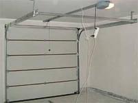 Комплект автоматики  для гаражных секционных ворот Nice Spin11 KCE, фото 5