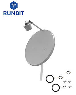 Комплект антенн 3G/4G LTE MIMO RunBit  2х28 дБ