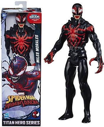 """Фигурка Веном Моралес  """"Maximum Venom Miles Morales"""" Hasbro Marvel 30 см, фото 2"""