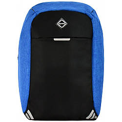 Рюкзак антивор Bonro с USB 20 л блакинтий