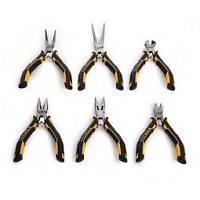Набор мини плоскогубцев и кусачек Stanley FatMax, 6 шт (шарнирно-губцевые)
