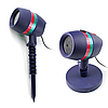 Уличный лазерный проектор LASER Star shower разные цвета, портативный, световое оборудование, лазер