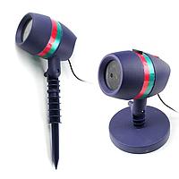 Уличный лазерный проектор LASER Star shower разные цвета, портативный, световое оборудование, лазер, фото 1