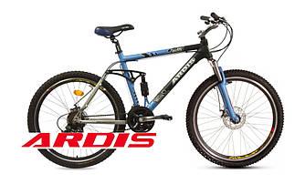"""Велосипед ARDIS LASER ATB 26"""" 19"""" Черный Черно/Синий"""