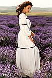 Белое длинное платье в пол, фото 2
