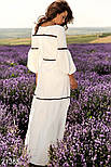 Белое длинное платье в пол, фото 3
