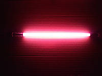 Подводная лампа Al Hijaz для аквариума, 10W, 50 см, розовая chi5010-02