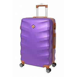 Чемодан Bonro Next (невеликий) фіолетовий