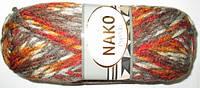 Пряжа Nako Pop Mix осенние цвета