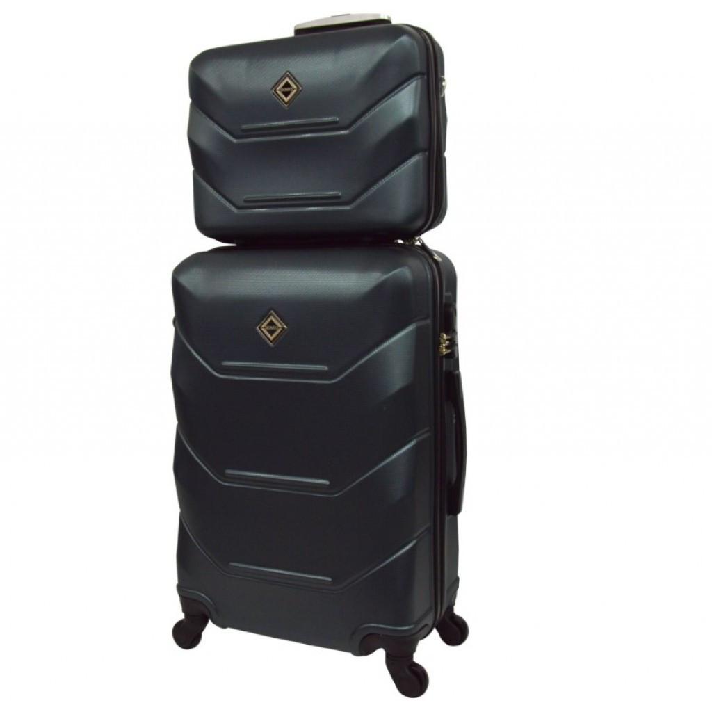 Комплект чемодан + кейс Bonro 2019 (средний) изумрудный