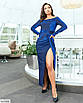 Ефектне блискуче плаття великого розміру, розмір 48-50, 52-54, 56-58, фото 3
