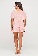 Персиковая велюровая пижама, фото 2