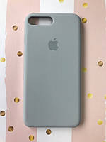 Силиконовый чехол Silicone Case для Apple iPhone 7 Plus iPhone 8 Plus Светло-серый 12063, КОД: 1844380