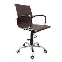Крісло Bonro B-605 коричневе