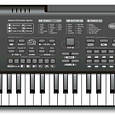 Детский синтезатор пианино 61 клавиша (5 октав) с микрофоном, с радио, от сети и батар MQ-010 FM, фото 2