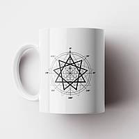 Чашка Slipknot art. Слипнот. Музыка. Metal. Метал. Чашка с фото, фото 1