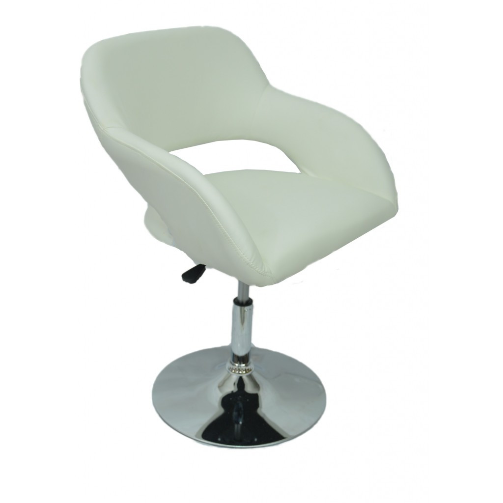 Крісло хокер Bonro B-539 біле