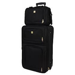 Комплект чемодан + сумка Bonro Best небольшая черная