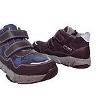 Утепленные кроссовки мальчикам, р. 32, 34, 35, 36. Демисезонные синие ботинки., фото 10