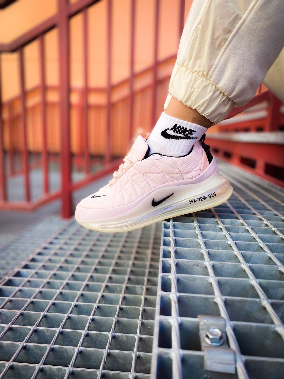Женские розовые Кроссовки Nike Air Max 720 818
