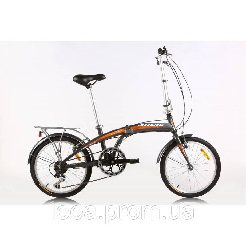 """Городской велосипед ARDIS City Folding (скорость:7"""") рама: 12"""""""