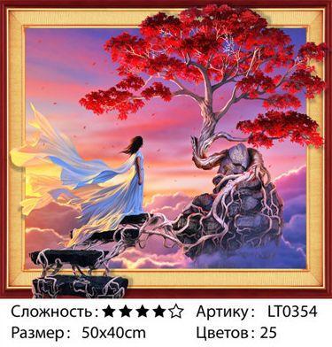 "ELT0354  Алмазная мозаика по номерам 40*50 объемная ""Mood"" карт уп. (холст на раме)"